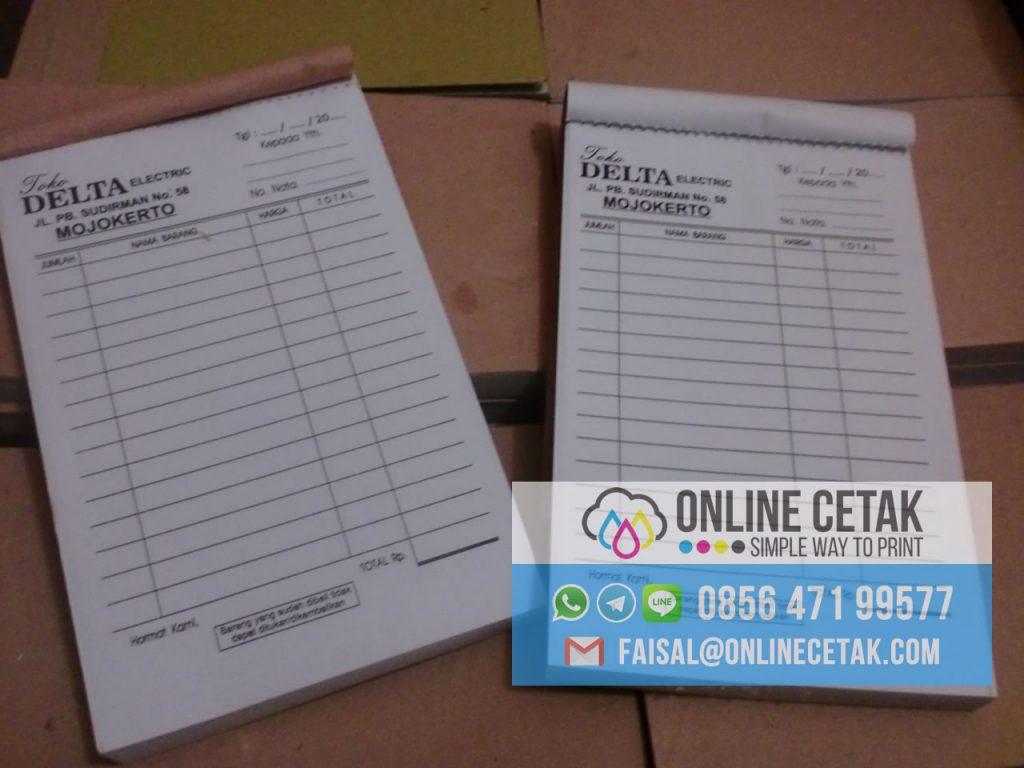 Cetak Nota Malang Archives Page 2 Of 2 Percetakan Online