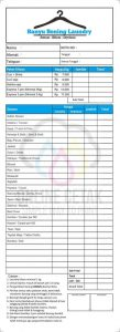 7 Contoh Nota Laundry Terbaru Percetakan Online